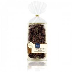 MANDLOVÉ STŘEPY, jemně hořká čokoláda, 150g