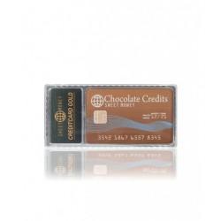 KREDITNÍ KARTA, mléčná čokoláda, 25 g